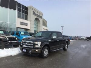 2015 Ford F-150 Lariat Crew 4x4, ONE OWNER, Clean Carproof