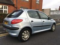 2003 Peugeot 206 1.4 Hdi 12 Months Mot £30 Road Tax Cheap Diesel Car