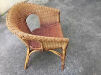 Vintage 'Lloyd Loom' chair