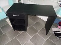 Black Desk Good Condition Free to Collector