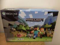 Xbox One S Minecraft Console Bundle 500GB (Used A Few Times)