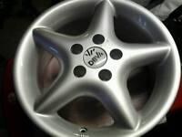 """4×14""""new alloy wheels vw range"""