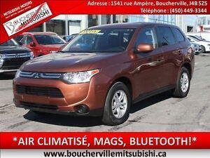 2014 Mitsubishi Outlander ES*AIR CLIM. BLUETOOTH, GR. ÉLECTRIQUE