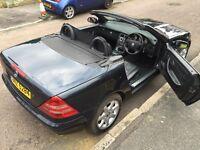 Mercedes SLK 230 Kompressor Hardtop Convertible in very good condition