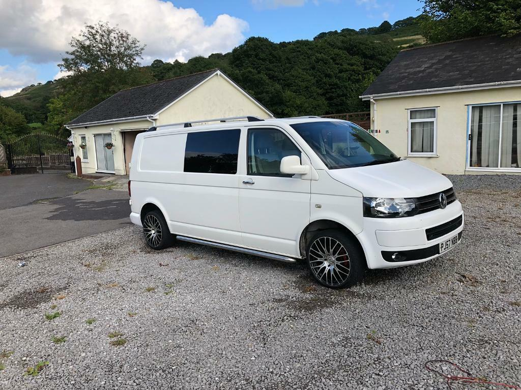 Vw T5, 140, 84k miles, comes with drive away awning ...