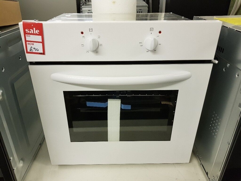 Brand New Essentials Cbconw12 Electric Oven White In Bredbury This Has A Multifunction Easyclean Enamel