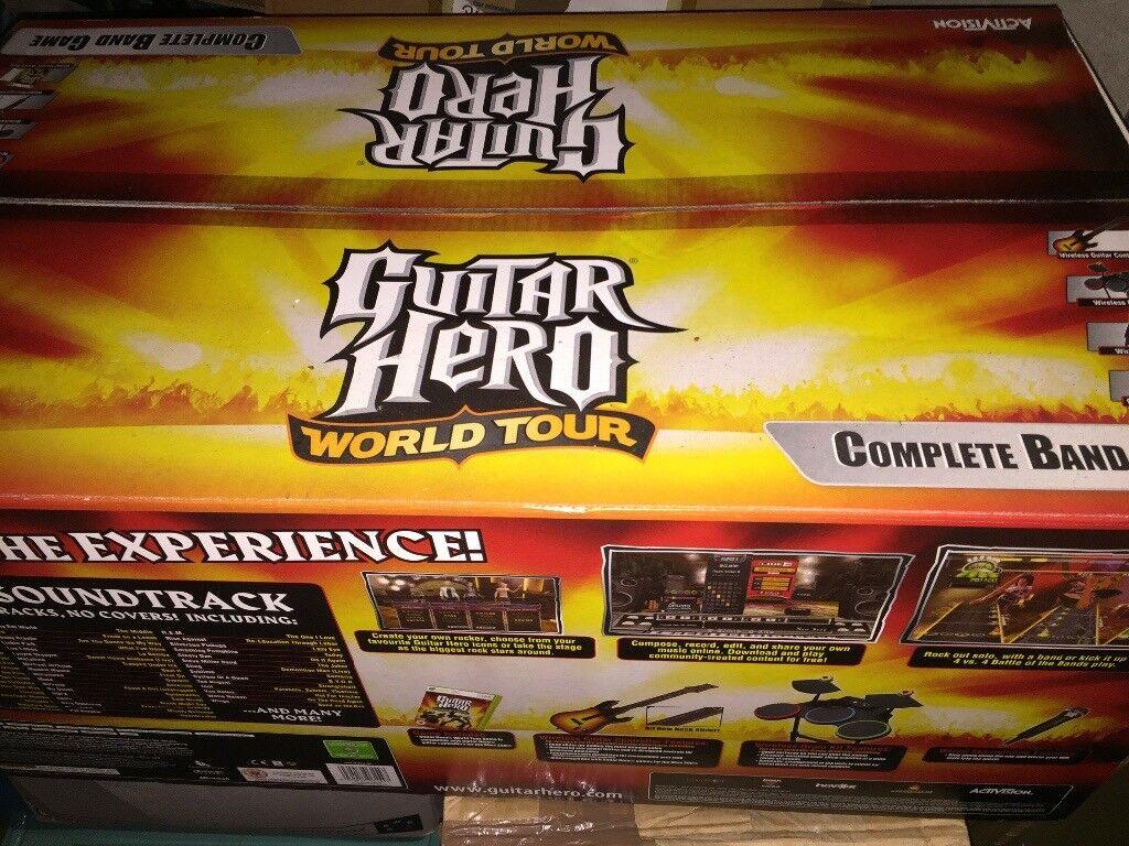 Guitar Hero World Tour XB360 BRAND NEW UNUSED