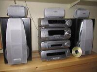 Technics hi-fi 5.1 stack system