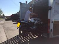 Motorcycle transportation and recovery services 24/7