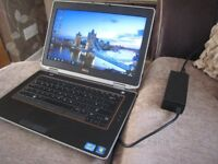 "DELL Latitude E6420 NOTEBOOK 14"" SCREEN WITH DELL CHARGER £95 ICORE 3 SMART FAST NOTEBOOK"