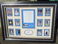 "Brand New Ron Harris ""My Greatest Chelsea XI"" Framed Presentation"