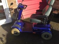 Invacare Meteor 8mph Road Mobility Scooter-Brand New Batteries