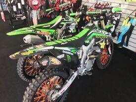 Kawasaki kxf 250 not cry yzf Rmz ktm