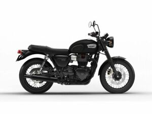 2019 Triumph Bonneville T100 Demo Blk $600 Cash Rebatte or 2.98%