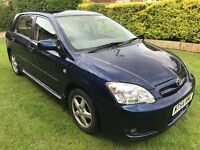 Fantastic Value And Great Condition 2004 54 FACELIFT Corolla 1.6 T3 5 Dr Hatch 72000 Miles 1 Owner