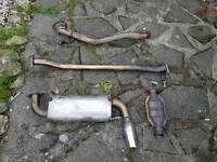 MX5 MK1 Straight Pipe & Aftermarket BackBox