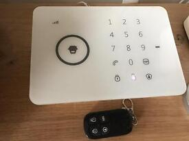 MiGuard MGG5 wireless home alarm system GSM/SMS/RFID touch