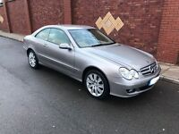 Mercedes CLK 220CDI Elegance 2007, Immaculate condition