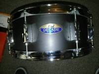 Brand new Pearl Decade Maple snare drum