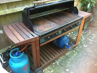 FOR SALE Sunshine Legend 5000 gas BBQ. Ideal for large events and festivals