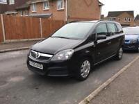 Vauxhall zafira life 1.6 petrol, 7 seater P/X welcome