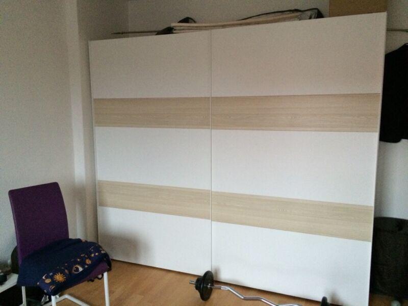 neuwertiger schlafzimmer schiebet rschrank in berlin spandau ebay kleinanzeigen. Black Bedroom Furniture Sets. Home Design Ideas