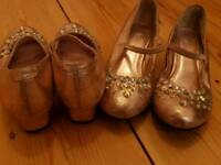 Girls monsoon heels size 11x2