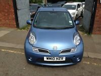 Nissan Micra 1.2 16v N-TEC 5dr Automatic VERY LOW MILEAGE With built in SAT NAV WM10 HZX