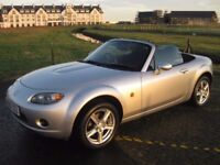 Mazda MX-5 1.8, low miles, excellent condition! only 2 owners from new