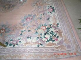 Beautiful embossed Washed Chinese carpet