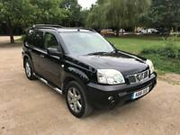 NISSAN X TRAIL 2006 AUTOMATIC SAT NAV. I 1 OWNER FROM NEW ONLY DONE 61000 MILES DRIVES LOVELY