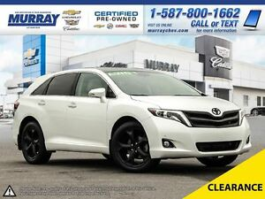 2014 Toyota Venza Limited V6 **Loaded! Low Mileage!**