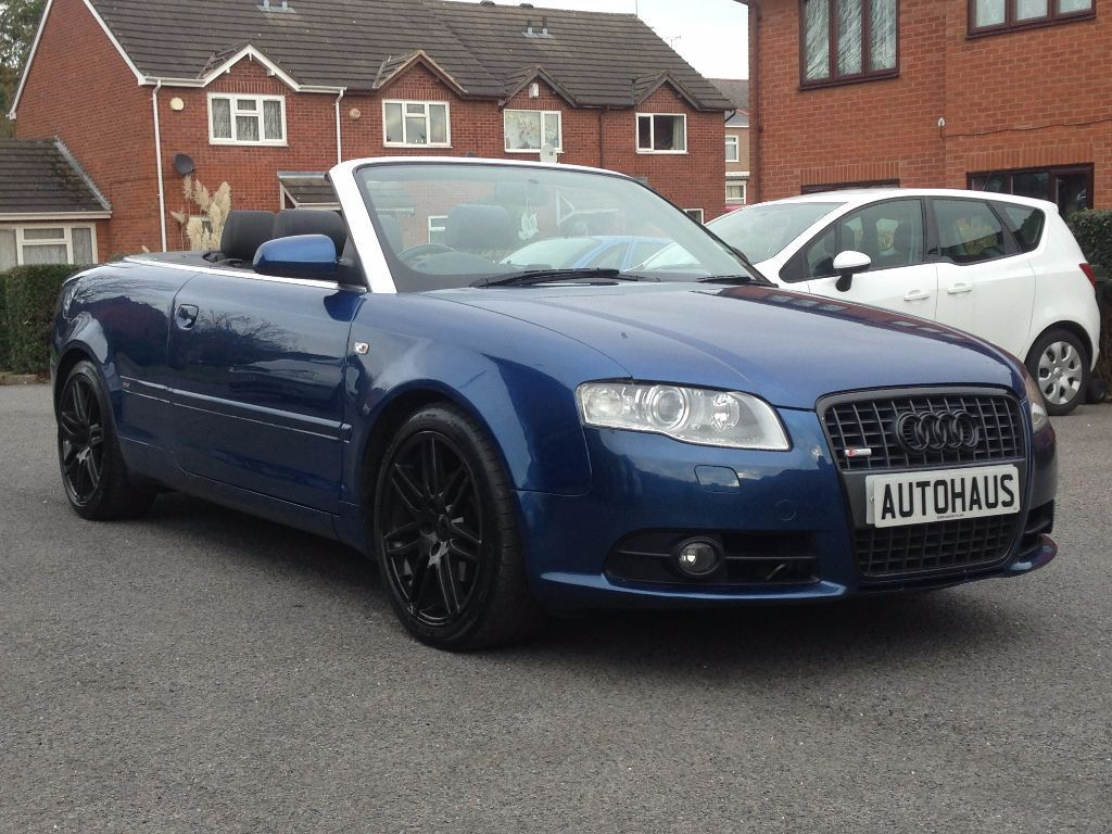 2009 audi a4 cabriolet 2 0 tdi final edition s line sat nav leather diesel convertible a3. Black Bedroom Furniture Sets. Home Design Ideas