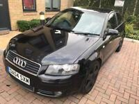 Audi A3 automatic Diesel 2004. S Line. Mot. Tax. Leather