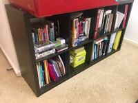 Ikea large black-brown bookcase (150x40x80)
