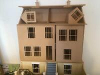 Georgian dolls house and basement