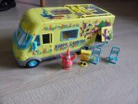 spongebob campervan set