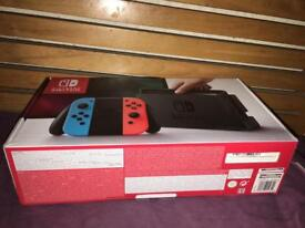 Nintendo switch neon brand new **may exchange** READ !!!!!