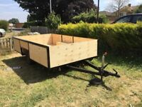 Refurbished 11ft x 7ft general purpose trailer.