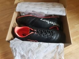 Boys Canterbury Rugby boots brand new in box size 5.5