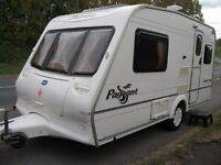 SMALL BAILEY 2-BERTH,LIGHTWEIGHT CARAVAN,IN EXCELLENT CONDITION, THE TARDIS!