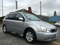 KIA SEDONA 2.9 TS CRDI 7 SEATER, 58 PLATE 2008...89,000 MILES...FAMILY MPV WITH THE X-FACTOR!!!