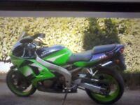 For sale or swap Kawasaki zx6r ninja