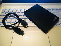PORTABLE HDD Seagate 500 GB 2.5-Inch External Hard Drive, Black