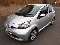 TOYOTA AYGO 1.0 VVT ** AUTOMATIC ** 5 DOOR HATCH ** 56 PLATE ** 35,000 MILES **