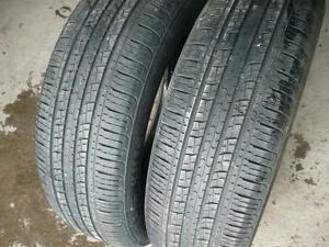 Two 225-65--17 tires $90.00