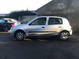 Renault Clio 1.1 low miledge