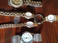 Selection of Watches for spares or repair only £35