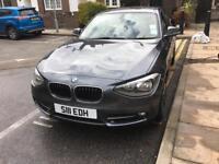 BMW 1 series 120d grey manual