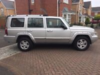 2007 57 JEEP COMMANDER 3.0 CRD LIMITED 5DR AUTOMATIC 7 SEATER